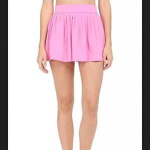 "Kate Spade ""Dive Right In"" pink swim skirt"